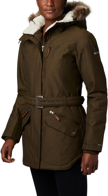 Columbia Carson Pass II Veste Thermique Femme, olive green